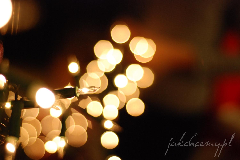 światełka choinkowe
