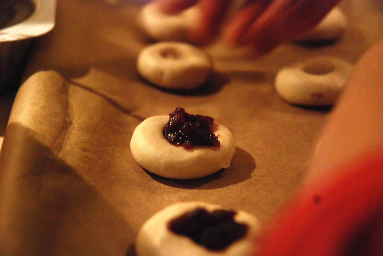 ciastka świąteczne pieczenie