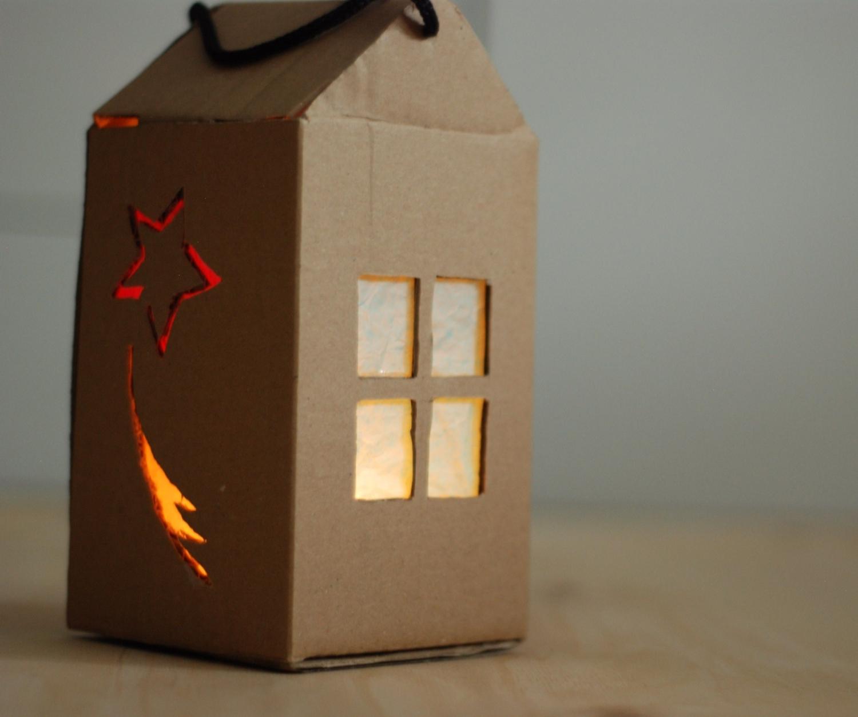 Lampion adwentowy DIY