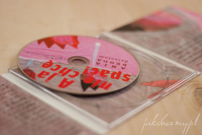 a j anie chcę spac rozpakowana płyta CD
