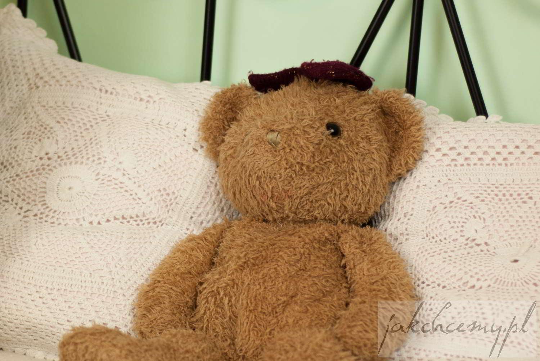 Misiek i poduszki do snu