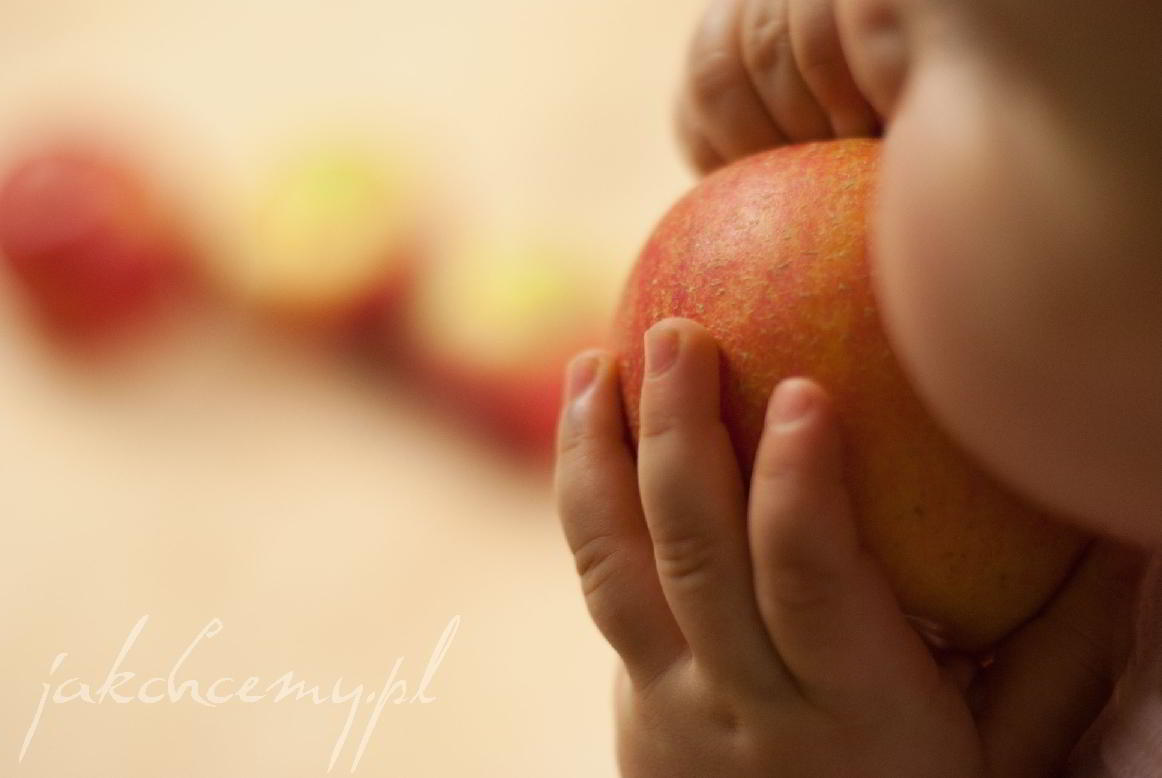 smaczne jabłko