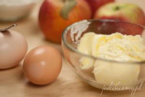 Skałdniki do szarlotki i masło koniecznie