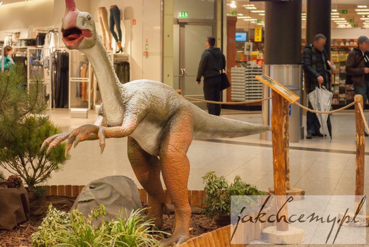 Dinozaur z dziobem sylwetka