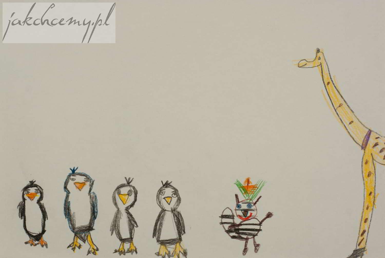 pingwiny z Madagaskaru wersja Mi