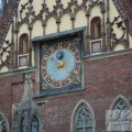 zegar we wrocławiu
