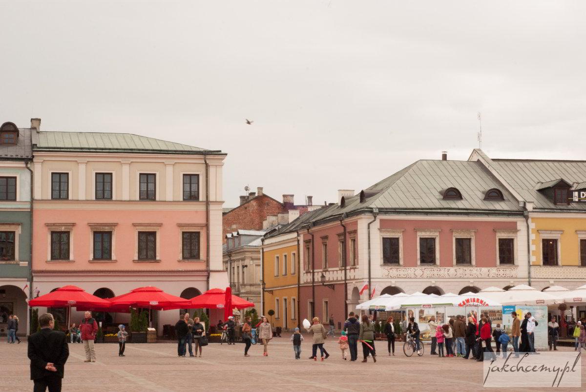 kamienice przy rynku zamojskim