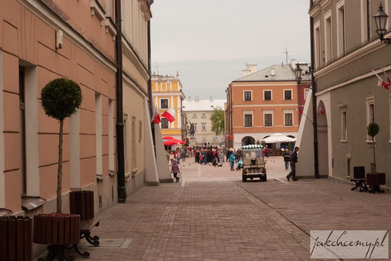 uliczki przy rynku zamojskim
