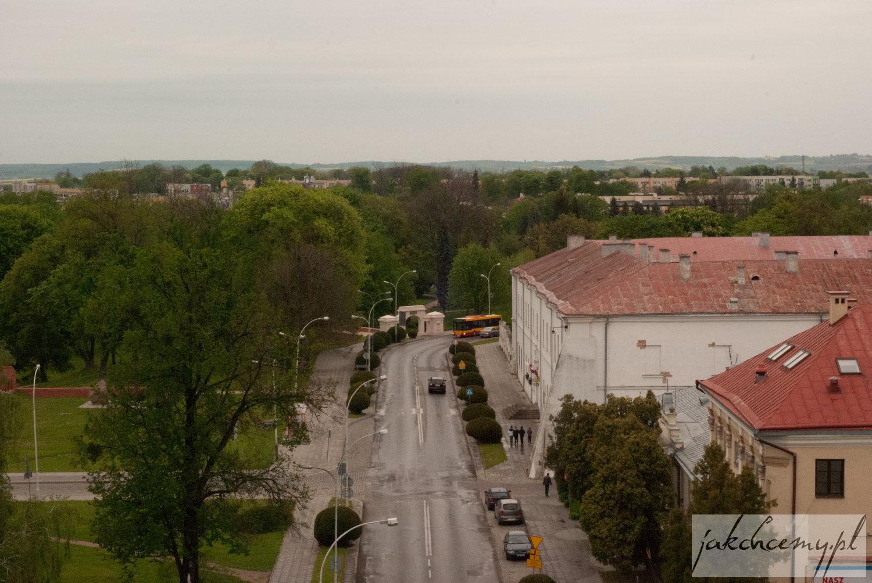 widok z wieży katedralnej