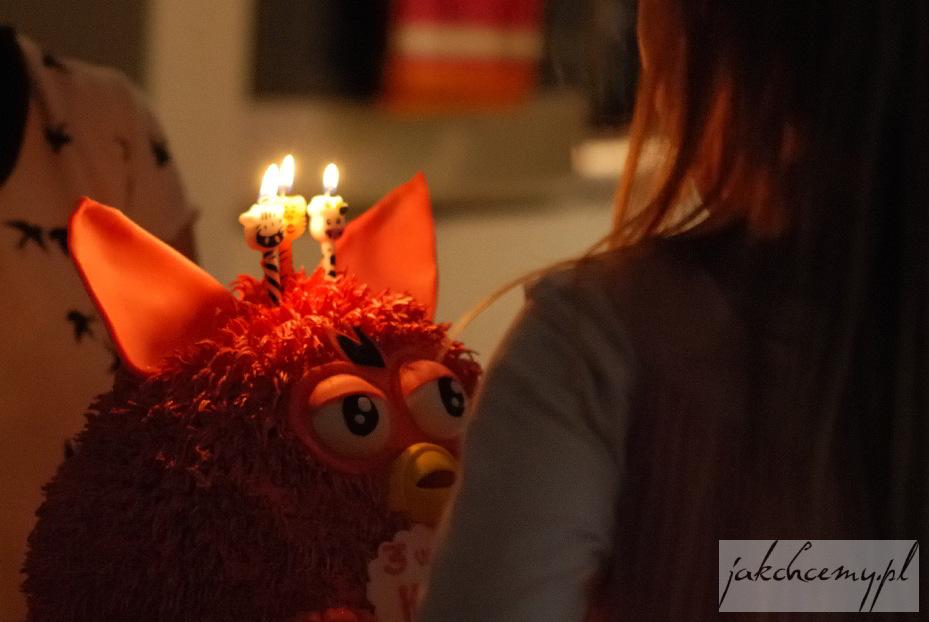 świeczki na ferbim