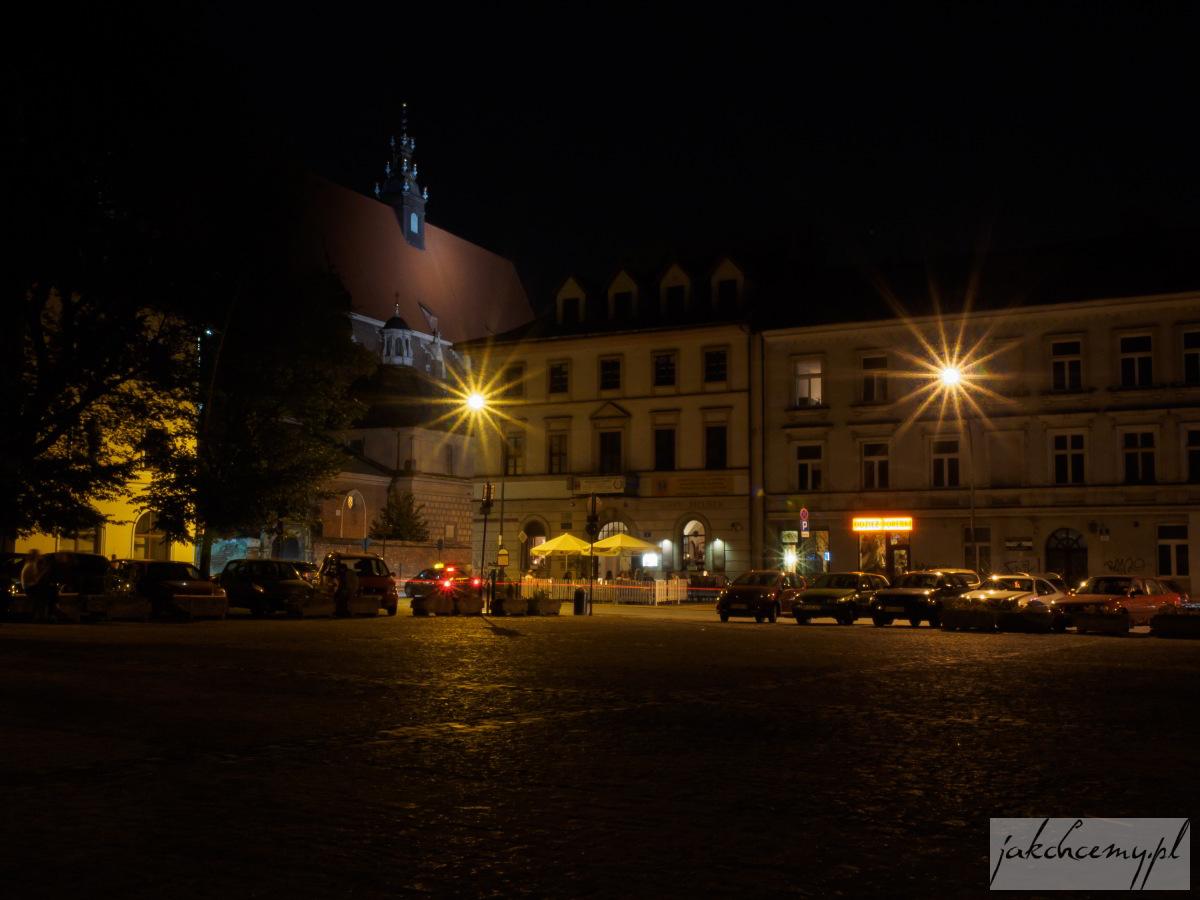 Kazimierz nocą