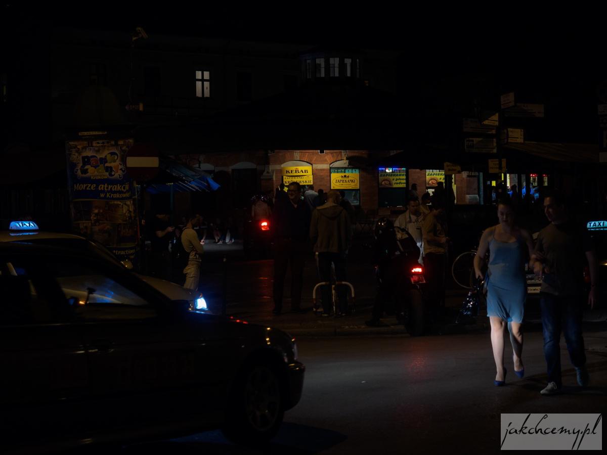Kazimierz nocą 14