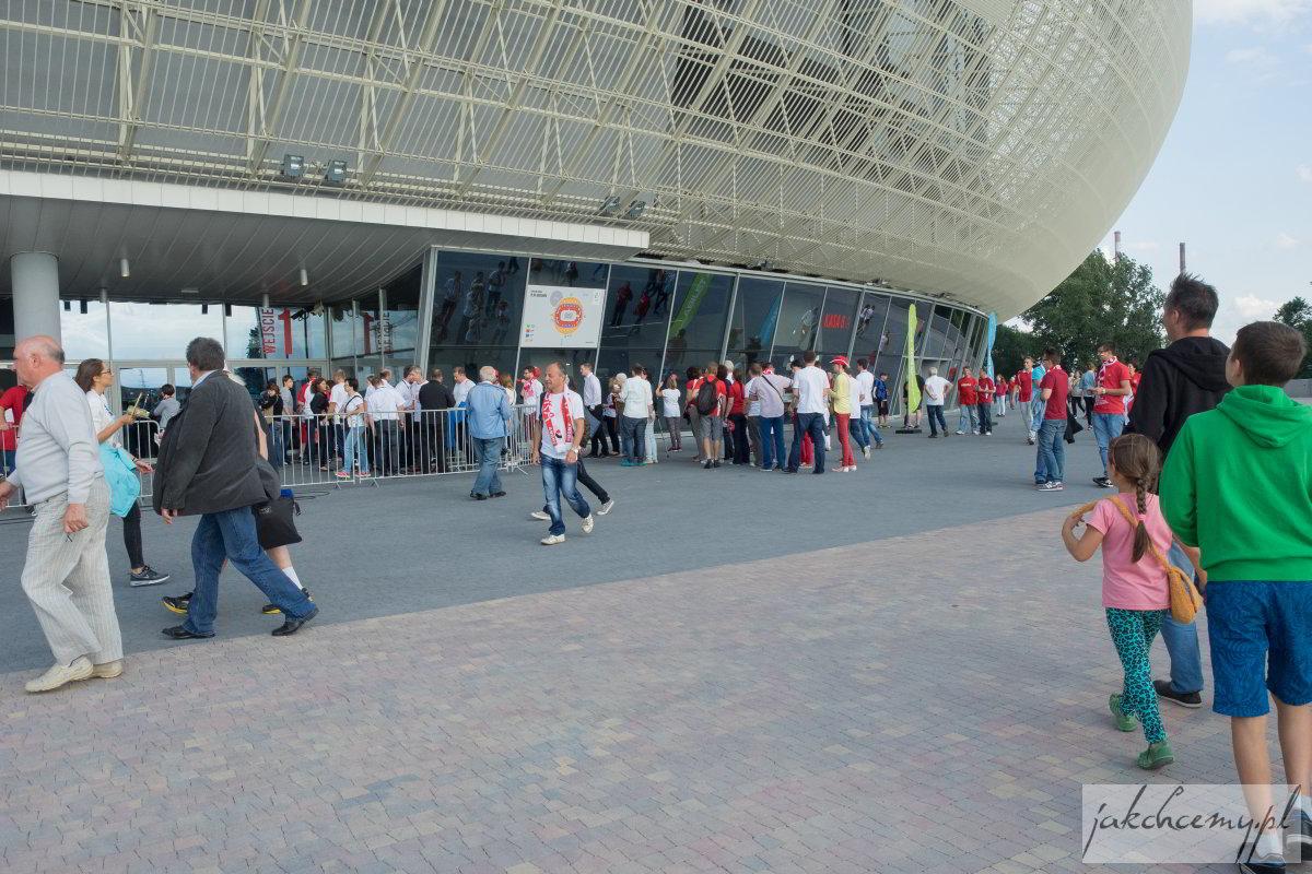 Arena Kraków z bliska