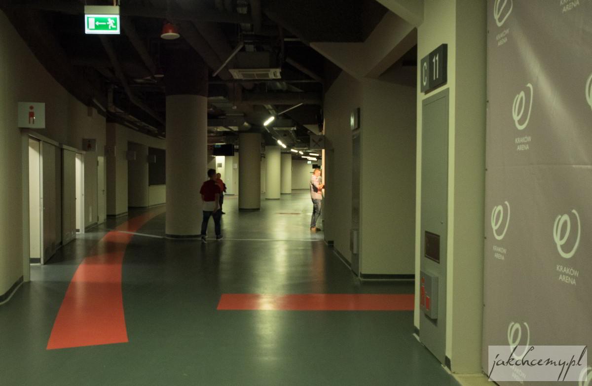 Arena Kraków wewnątrz
