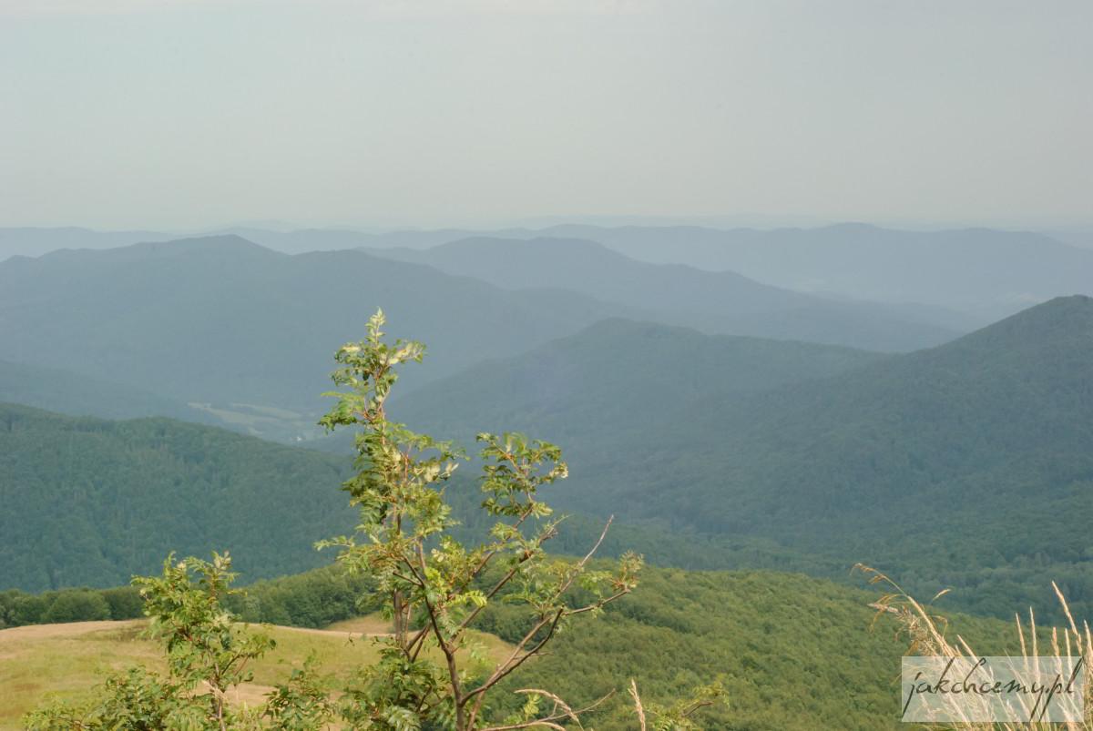 Widok z drogi na Szeroki Wierch