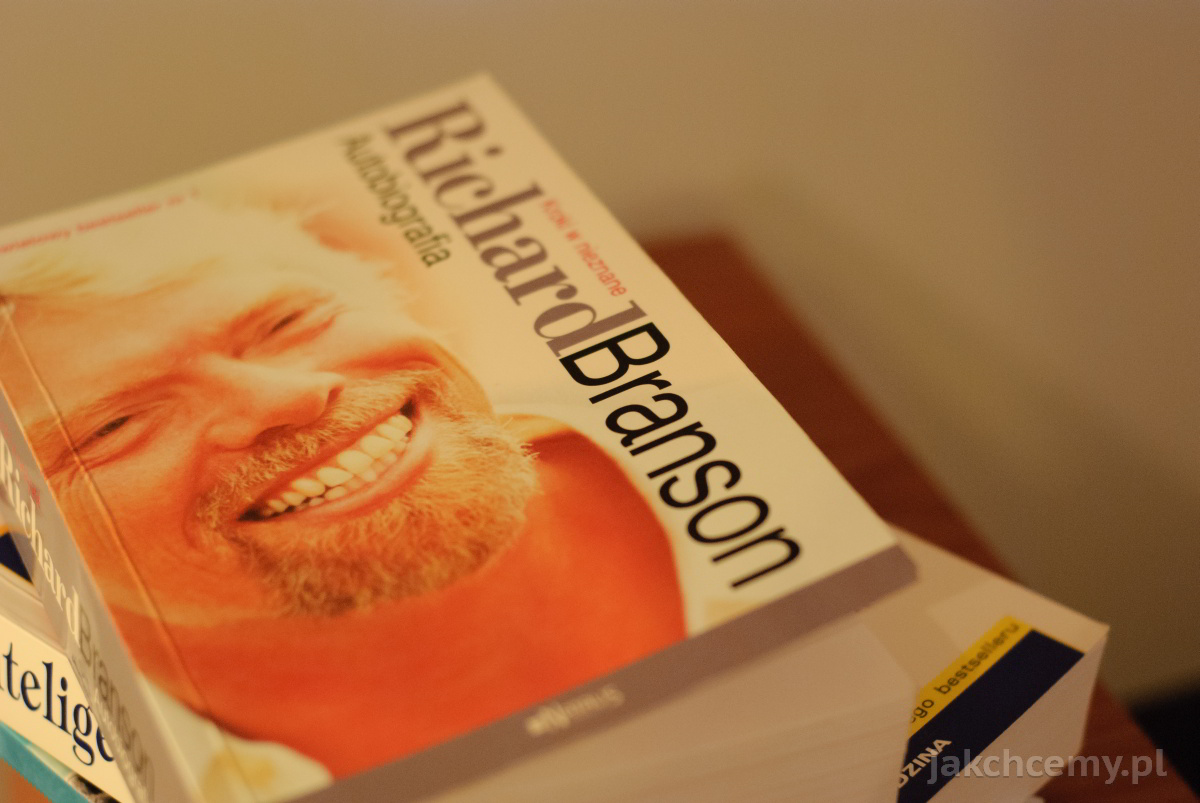 Richard Branson Autobiografia okładka