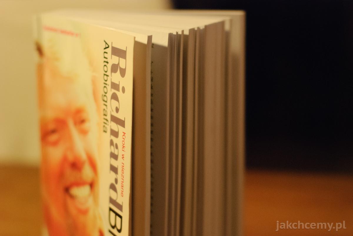 Richard Branson Autobiografia stojąco