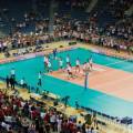 Arena Kraków memoriał H. Wagnera Polska Chiny widok z góry