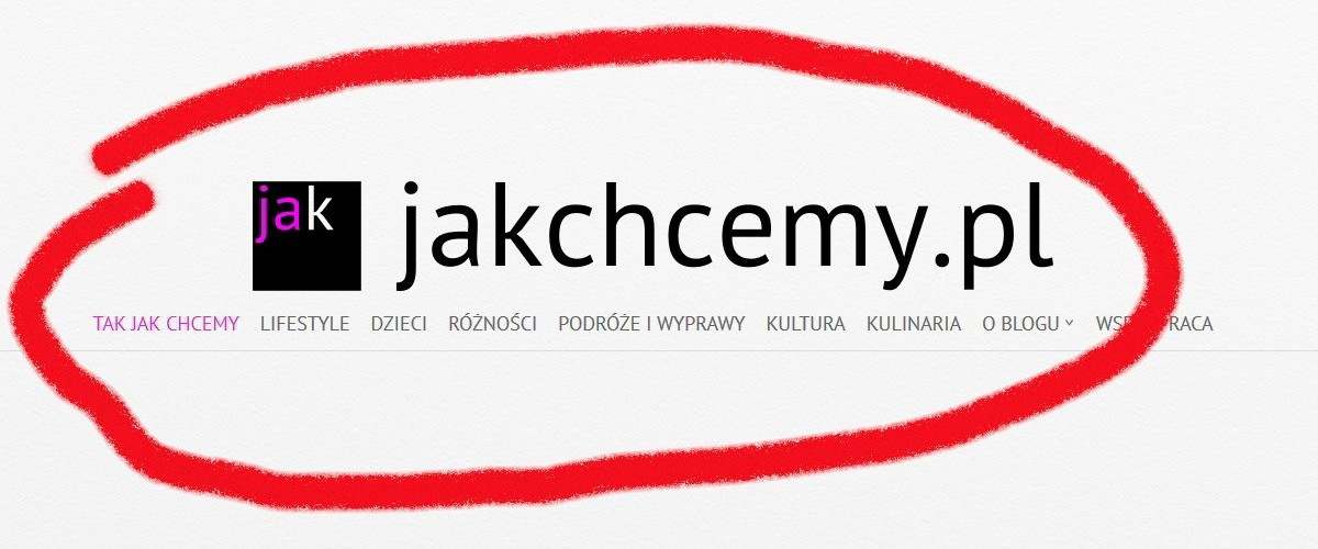 Blog screen jakchcemy