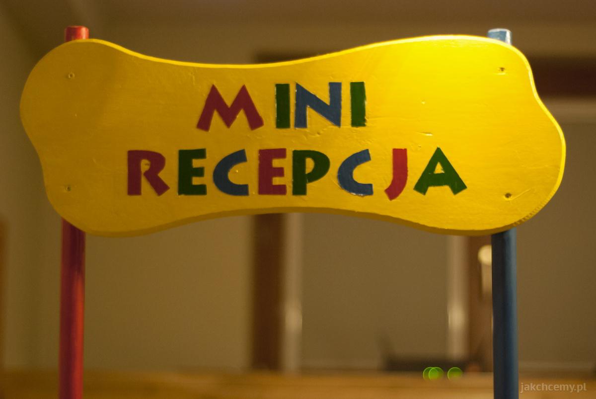 mini recepcja