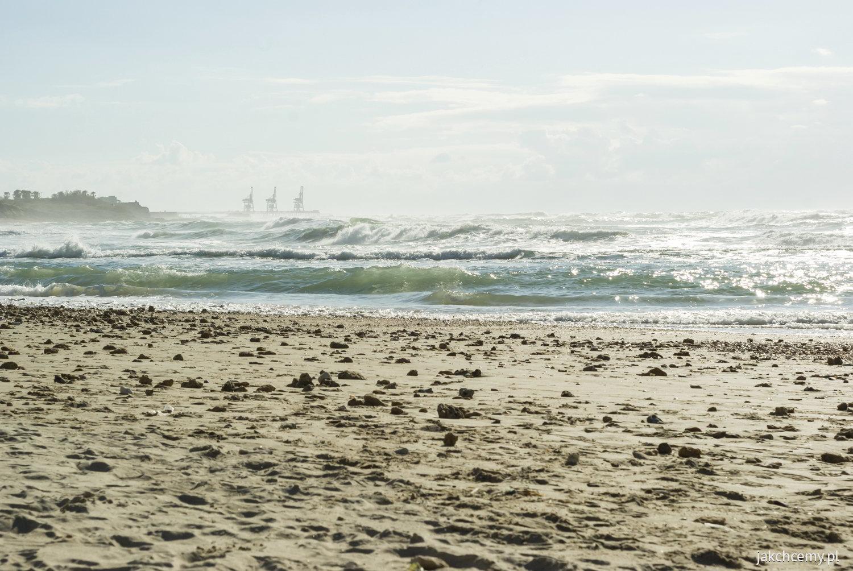Morze Śródziemne fale
