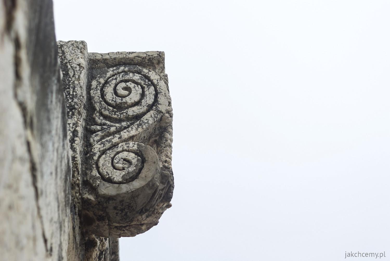 Kafarnaum. Ruiny z czasów rzymskich.