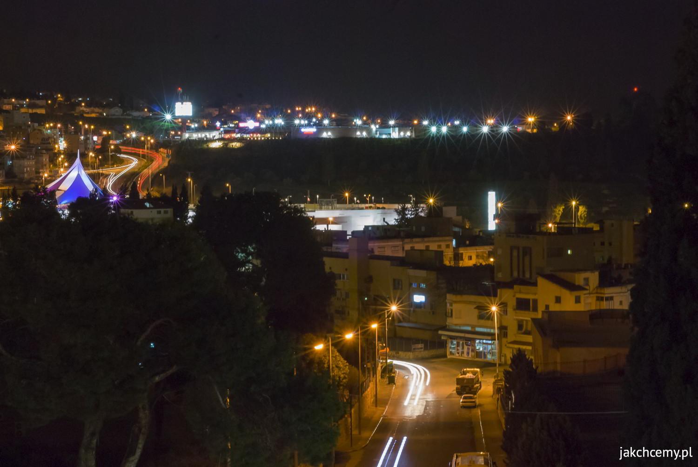 Nazaret nocą