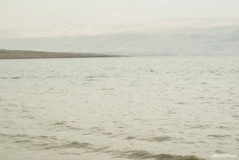 Morze Martwe. Woda.