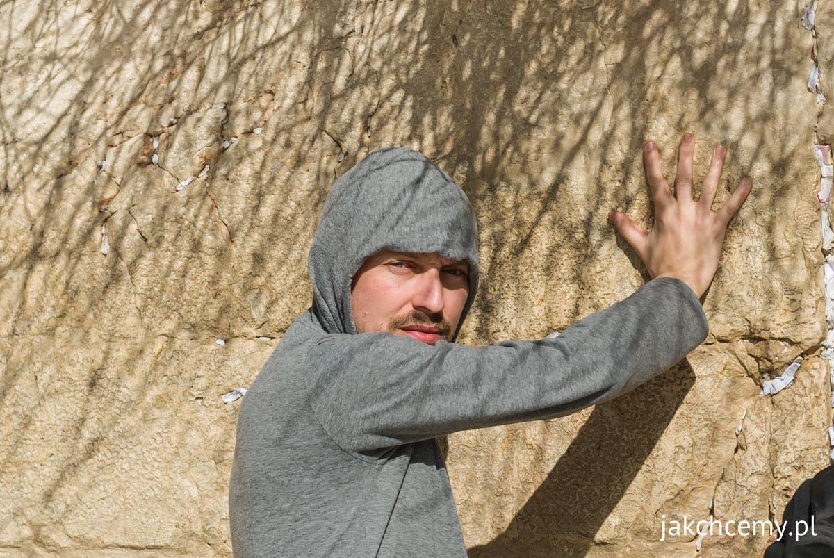 Jerozolima ja przy Ścianie Płaczu