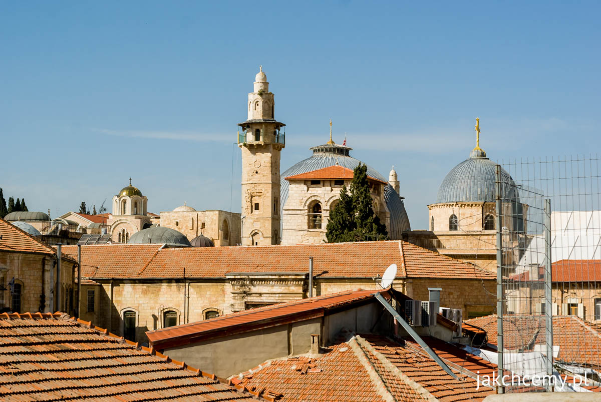 Jerozolima dachy