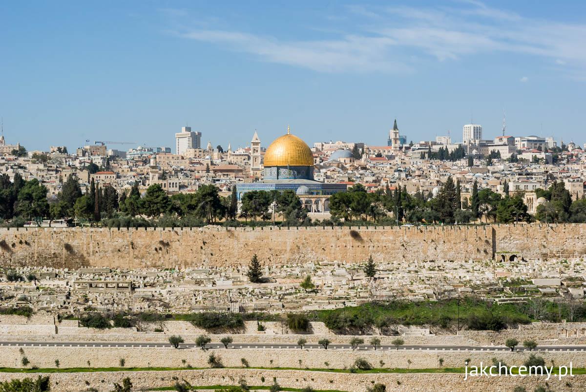 Jerozolima panorama, Meczet Skały