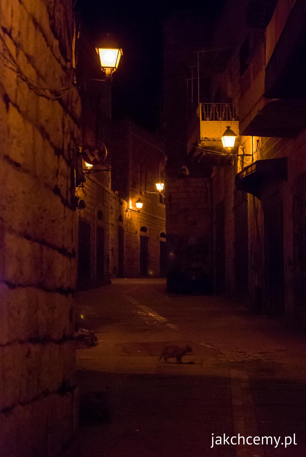 Betlejem uliczki miasta