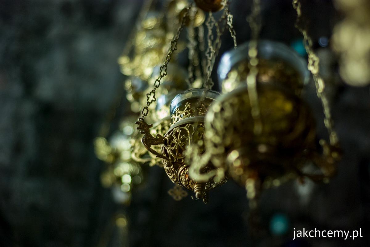 Jerozolima, lampy prawosławne
