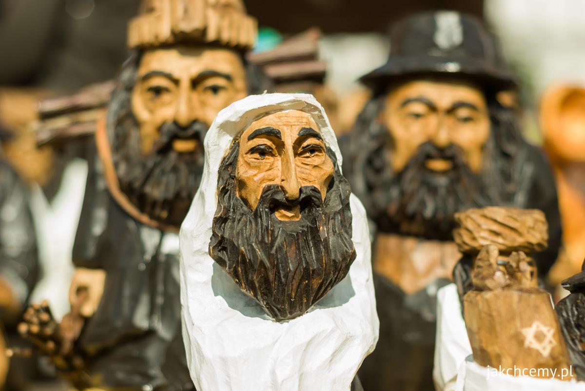 Rzeźby, postacie żydowskie