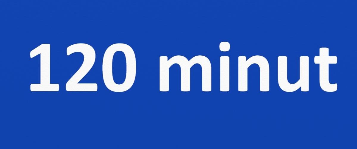 120 minut