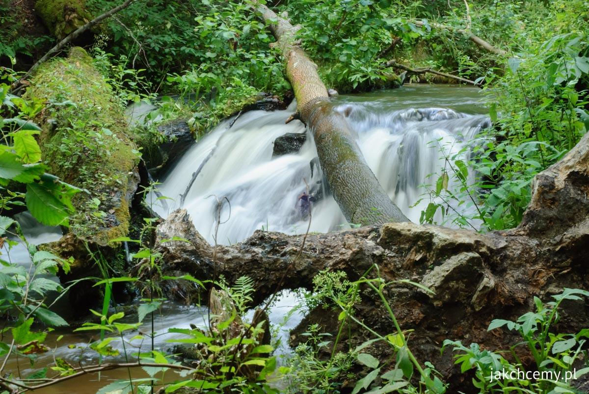 Czartowe pole wodospad