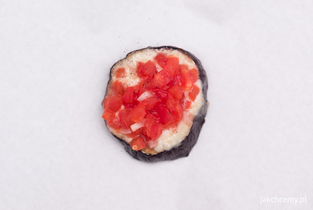 Zapiekany bakłażan