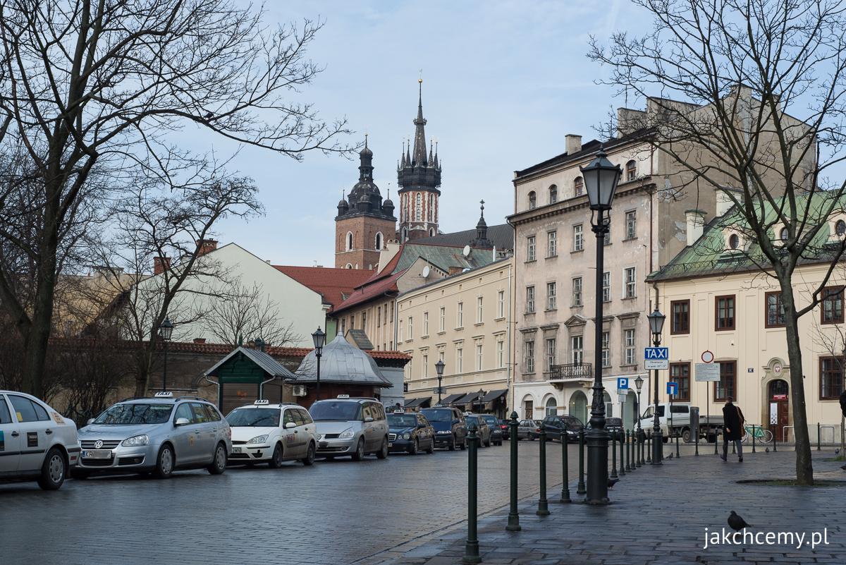 Kościół Mariacki, ulica Szewska Kraków