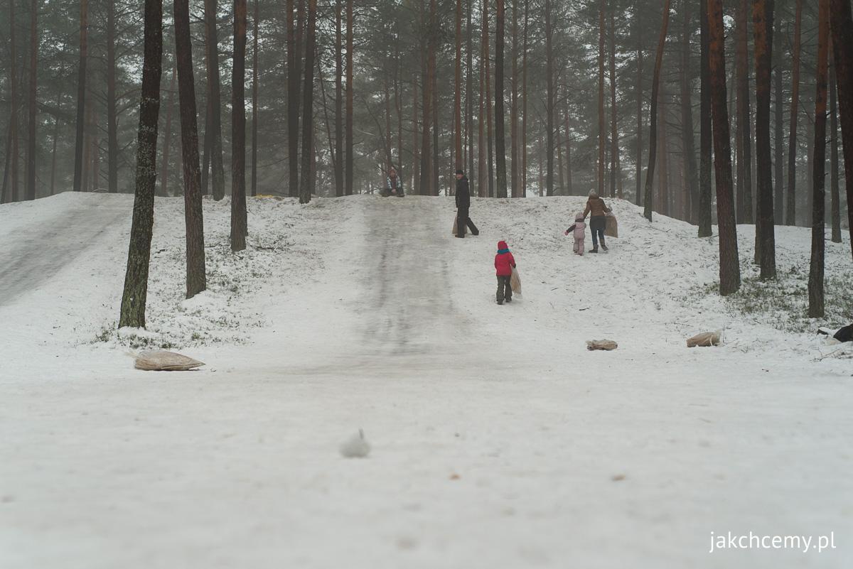 las, śnieg, ferie 4