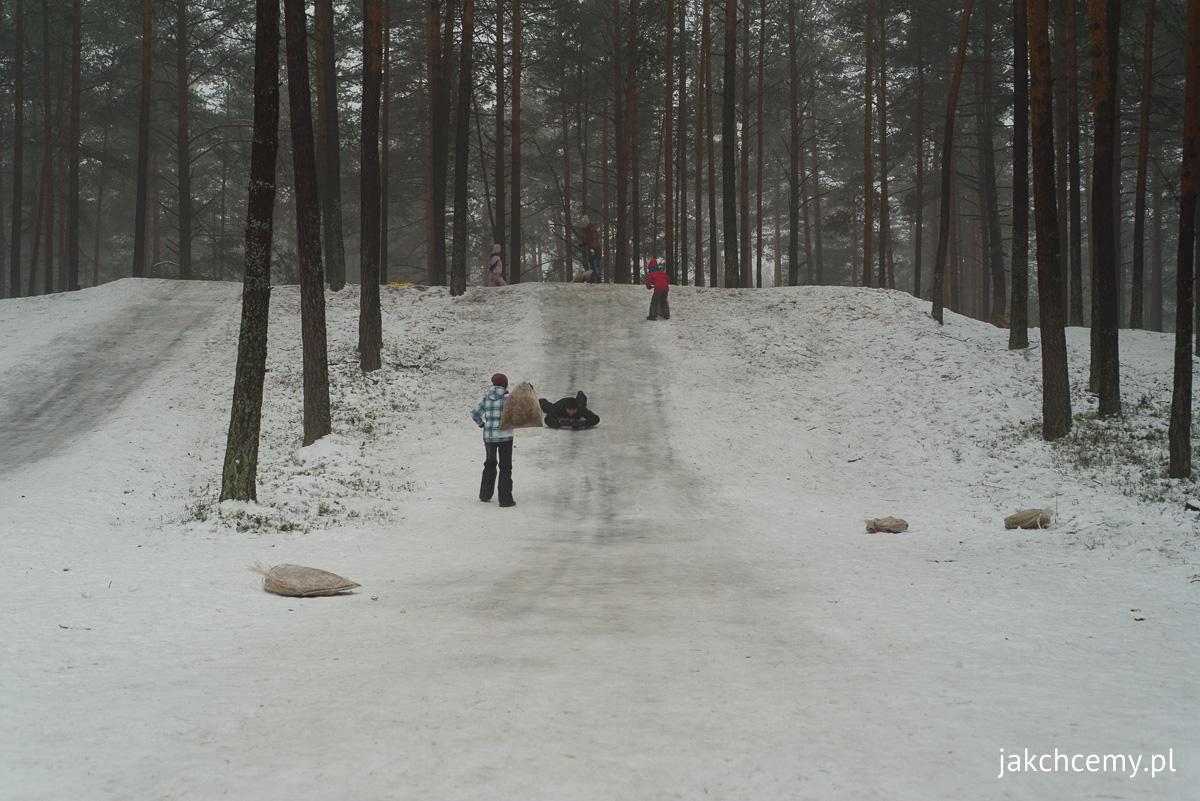 śnieg, las, ferie 5