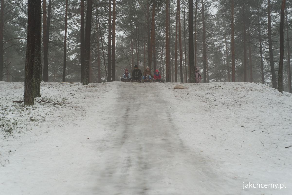 las, śnieg, ferie 6