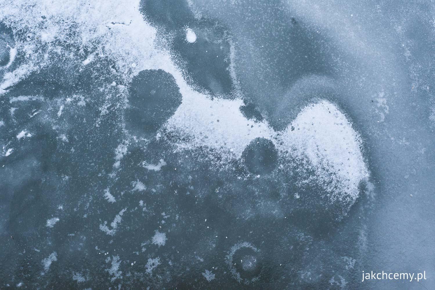 Wisła i lód, Kraków